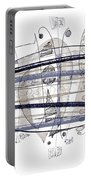 Abstract Pen Drawing Thirty-four Portable Battery Charger