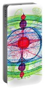 Abstract Pen Drawing Thirty-one Portable Battery Charger