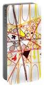 Abstract Pen Drawing Three Portable Battery Charger
