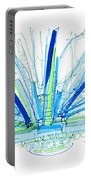 Abstract Pen Drawing Twenty-nine Portable Battery Charger