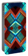 Abstract Photomontage No 3 Portable Battery Charger