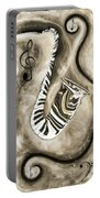 Piano Keys In A Saxophone 3 - Music In Motion Portable Battery Charger