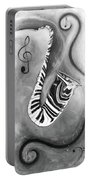 Piano Keys In A Saxophone 4 - Music In Motion Portable Battery Charger