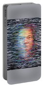 Abstract Portrait Portable Battery Charger