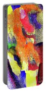 Abstract Poster Portable Battery Charger