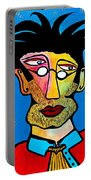 Abstract Professor Portable Battery Charger