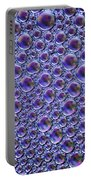 Abstract Purple Alien Bubble Skin Portable Battery Charger