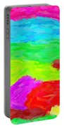 Abstract Rainbow Art By Adam Asar 3 Portable Battery Charger