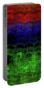 Abstract Rainbow Portable Battery Charger