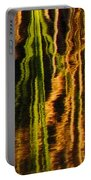 Abstract Reeds Triptych Middle Portable Battery Charger