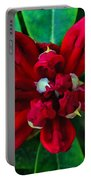 Abstract Rhoddy Bloom Portable Battery Charger