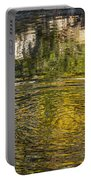 Abstract River Reflection Portable Battery Charger