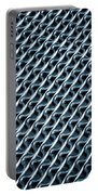 Abstract Rubber And Iron Mat Portable Battery Charger