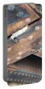 Abstract Rust 2 Portable Battery Charger