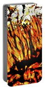Abstract Saw Grass Iv Portable Battery Charger