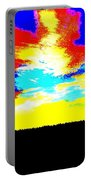 Abstract Sky Portable Battery Charger