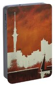 Abstract Skyline - Auckland Portable Battery Charger