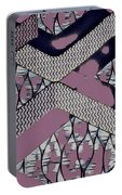 Abstract Slates Portable Battery Charger
