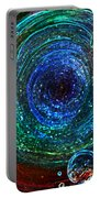 Abstract Space Art. Sparkling Antimatter Portable Battery Charger