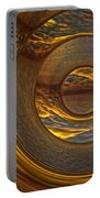 Abstract Sunset Portable Battery Charger