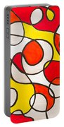 Abstract Swirls Portable Battery Charger