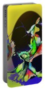Abstract Tarot Card The Lovers Portable Battery Charger
