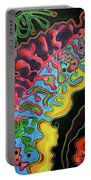 Abstract Thought Portable Battery Charger
