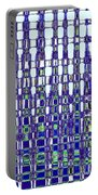 Abstract Time Portable Battery Charger