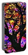 Abstract Tree 304 Portable Battery Charger