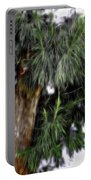 Abstract Tree 8 Portable Battery Charger
