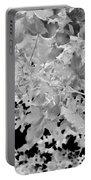 Abstract Tree Landscape Dark Botanical Art Black Noir Portable Battery Charger