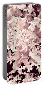 Abstract Tree Landscape Dark Botanical Art Rose Tinted Portable Battery Charger