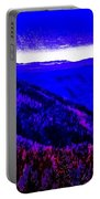 Abstract Views Portable Battery Charger