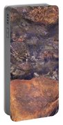 Abstract Water Art Iv Portable Battery Charger