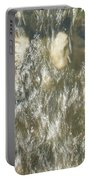 Abstract Water Art V Portable Battery Charger