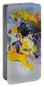 Abstract Watercolor 70075 Portable Battery Charger