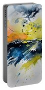 Abstract Watercolor 7007555 Portable Battery Charger