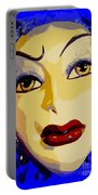 Abstract Woman #2 Portable Battery Charger