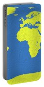 Abstract World Map 0317 Portable Battery Charger