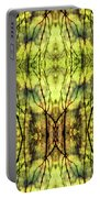 Abstract Yellow Trees Portable Battery Charger