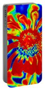 Abstract Zinnia Portable Battery Charger