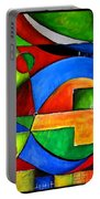 Abstraction 1723 Portable Battery Charger