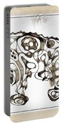 Abstraction 1950 Portable Battery Charger
