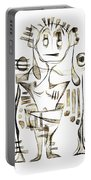 Abstraction 2045 Portable Battery Charger