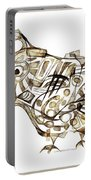 Abstraction 2247 Portable Battery Charger