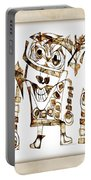 Abstraction 2422 Portable Battery Charger