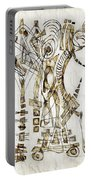 Abstraction 2563 Portable Battery Charger