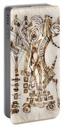 Abstraction 2564 Portable Battery Charger