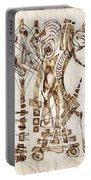 Abstraction 2565 Portable Battery Charger