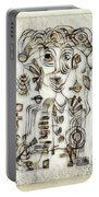 Abstraction 2569 Portable Battery Charger